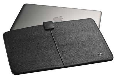 TREXTA MacBook Air用 本革レザーケース KECHI フローターブラック 12102
