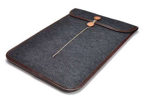 ハンドメイドフェルトケースDX MacBook Air11インチ用 ブラック