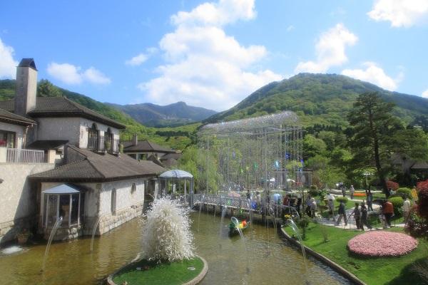 箱根ガラスの森美術館 庭園